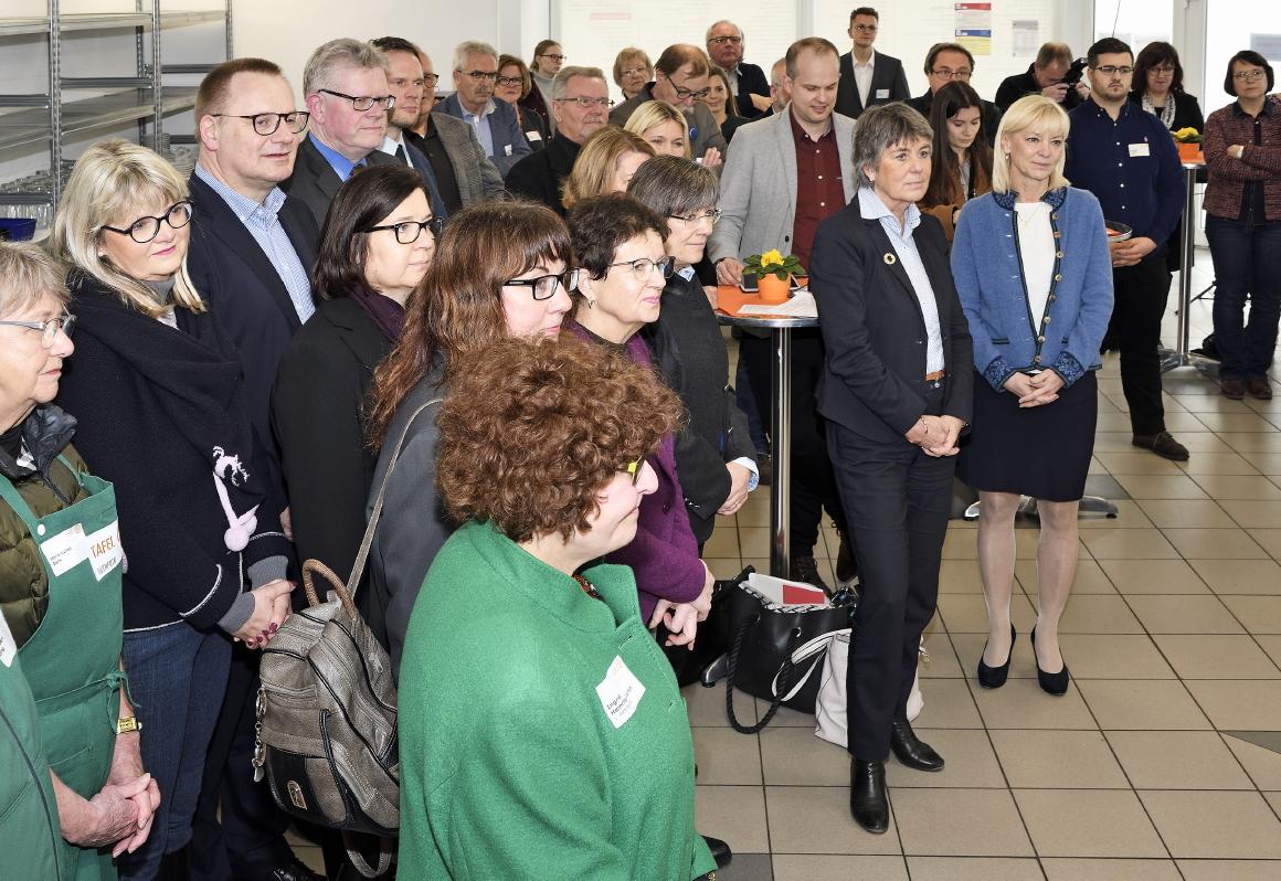 Einweihung Tafelbüro, Tafel Bayern, Bayreuth, 27.02.2020 - Carolina Trautner