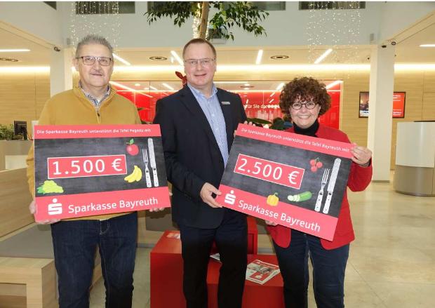 Spende Sparkasse Bayreuth