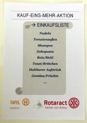Rotaract-Zettel